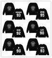 Star goods VIXX group N KEN RAVI LEO HONGBIN HYUK number Suit long sleeve sweatershirt hoody Outerwears