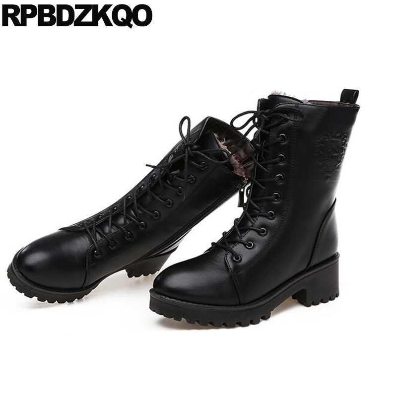 Black Army Shoes Cheap 2017 Chunky