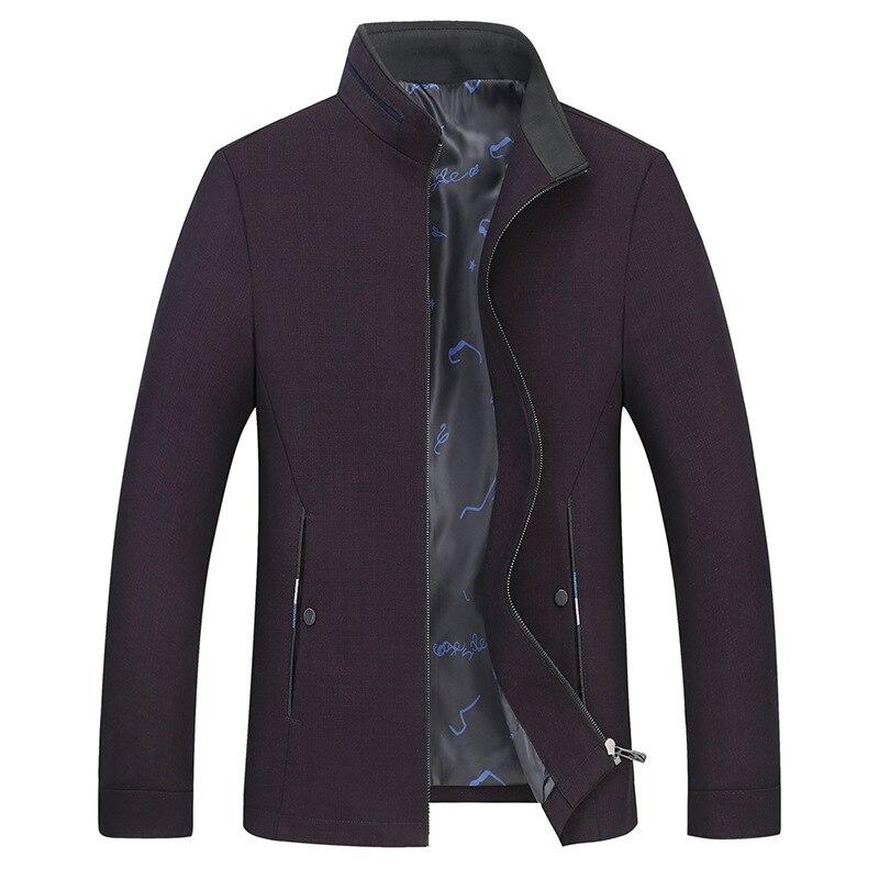 2019 Nieuwe Lente Herfst Super Grote Staande Kraag Jas Casual Losse Fashion Hoge Kwaliteit Plus Size LXL2XL3XL4XL5XL6XL7XL8XL-in Jassen van Mannenkleding op  Groep 3