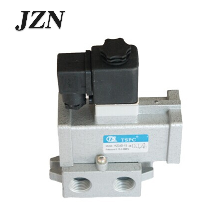 Freight free pneumatic component k23jd-08/10/15/20/25/32/40/50 two position three-way stop solenoid valve high qualityFreight free pneumatic component k23jd-08/10/15/20/25/32/40/50 two position three-way stop solenoid valve high quality