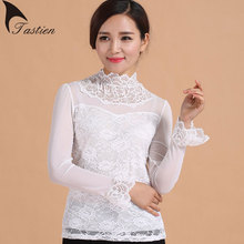 2016 New Spring Autumn Tops Tees For Women Flare Long Sleeve Model Fabric Comfortable Sexy Slim tshirts camisetas femininas Hot