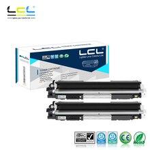 Lcl 130A CF350A CF350 350A (2 шт черный) Тонер-картридж для HP Цвет LaserJet Pro MFP M176n/M177fw