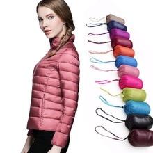 5XL 6XL más tamaño Casual marca pato blanco abajo chaqueta mujeres otoño invierno abrigo Ultralight Duck Down chaqueta a prueba de viento parka