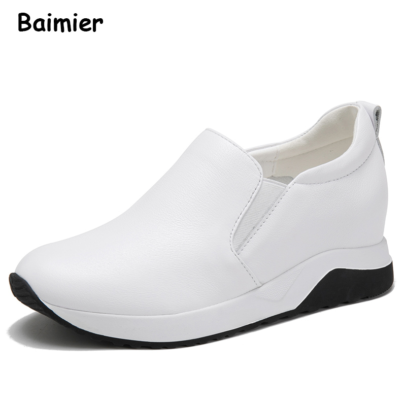 New Genuine Leather Shoes Woman Leather Loafers Cowhide Flexible Spring Casual Shoes Women Flats Women Oxfords Comfortable Shoes 2018 new genuine leather flat shoes woman ballet flats loafers cowhide flexible spring casual shoes women flats women shoes k726