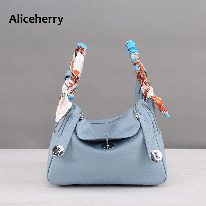 Aliceherry doctor handbag women messenger bags luxury handbags women bags designer famous brands genuine leather shoulder bags