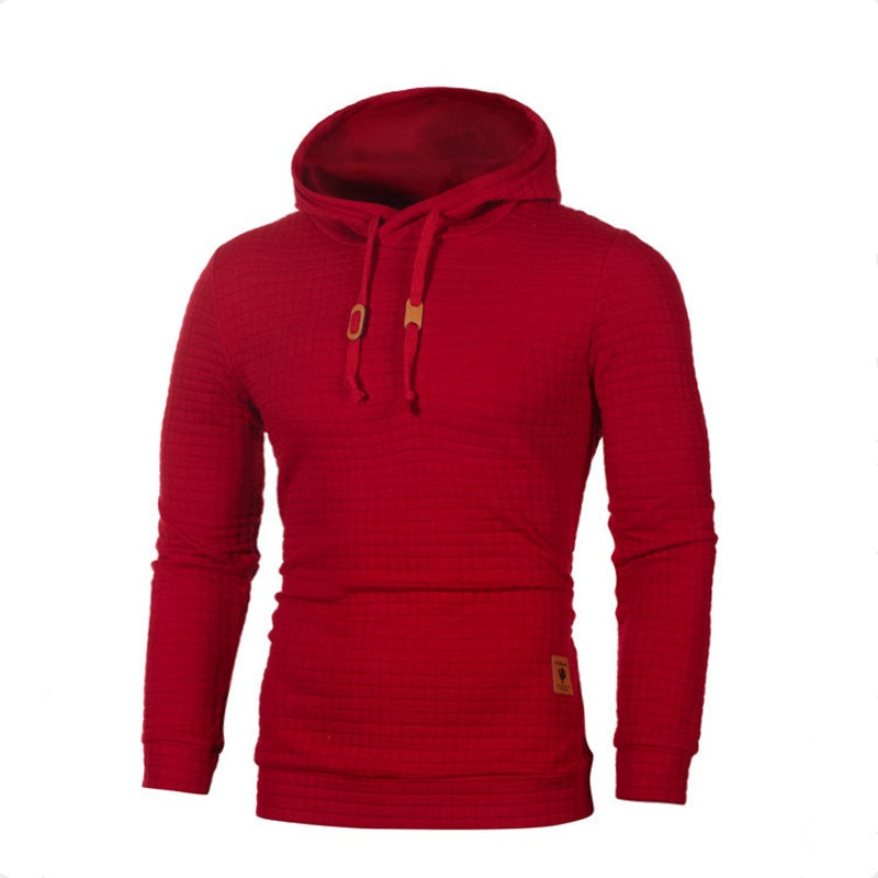 Autumn Winter Mens Hoodies Solid Color Long Sleeve Hooded Sweatshirt male Casual Hooded Sportswear Tracksuit Sweat Coat S-5XL