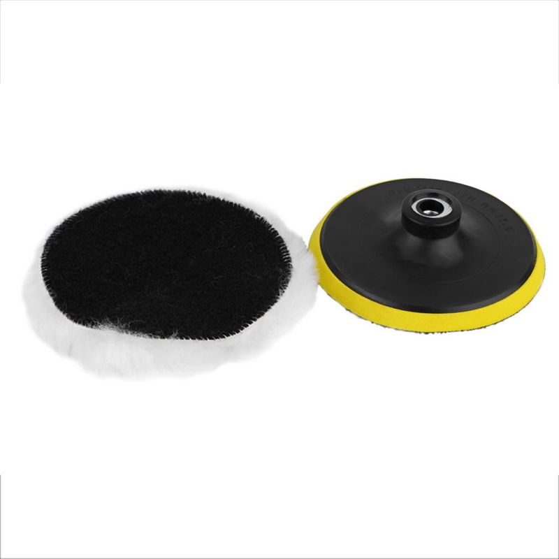 7pcs/set 3 Car Polishing Pad Polishing Buffer Waxing Buffing Pad Drill Set Kit Car Polishing Sponge Wheel Kit Polisher Abrasive Tools