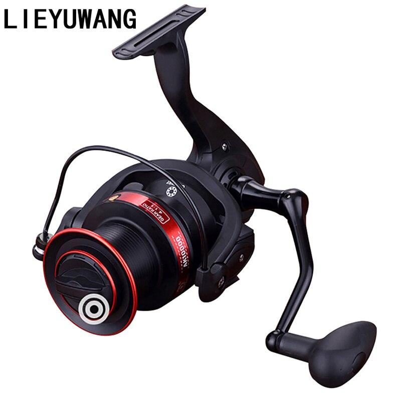 8000 12000 Series Speed Ratio 4 1 1 Big Trolling Fishing Reels Spinning Reel Feeder Spinning