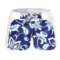 Жаркое Лето Sexy Cool Мужчины Мальчики Цветочные Гавайские Шорты Стволы Пляж