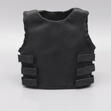 1/6 Scale U.S SWAT Black Bulletproof Vest Models for 12''Action Figures Bodies Accessories