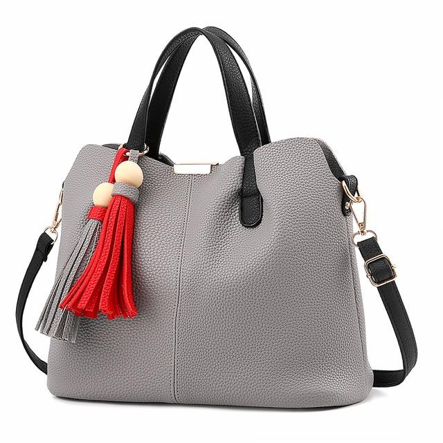 Мешок женщины сумочку посланник сумки роскошные сумки дизайнер кожа bolsa feminina bolsos mujer bolsas повседневная канала Кисточкой bolso