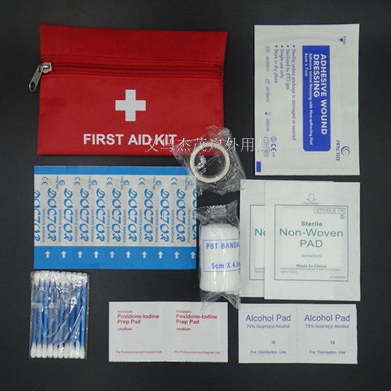 8 предметов/25 шт., набор для оказания первой помощи