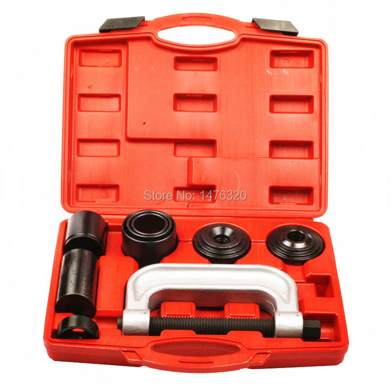 Ball Joint Extractor Remover Kit Auto Suspension C Frame Ball Joint Repair Garage Tool For Ford Jeep 2/4WD Vehicles AT2022 moog k9153 lower ball joint