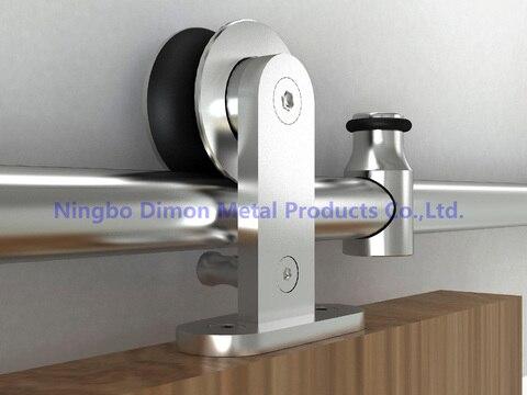 dimon personalizado sus 304 america estilo deslizante hardware porta deslizante hardware porta de madeira porta