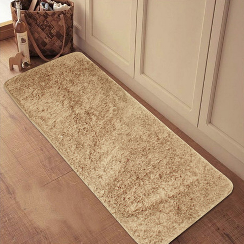 Hoomall Rectangle Anti-slip Floor Mat For Door Bathroom Plaid Fiber Hallway Mat Living Bedroom Carpet For Kids Rugs Home Decor