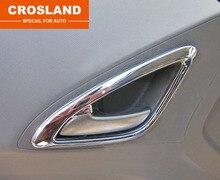 4 шт. ABS для Chevrolet sail 2 (2010-2014) ручка Двери Свет Рамка стикер