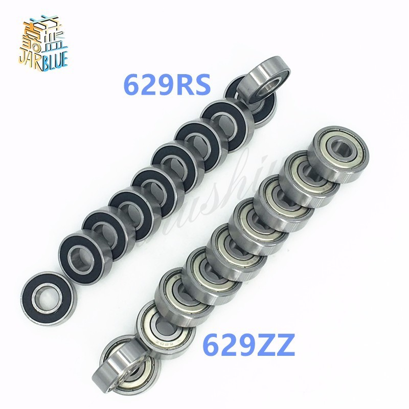 629ZZ Bearing ABEC-5 10PCS 9x26x8 mm Miniature 629Z Ball Bearings 629 ZZ EMQ Z3V3 629ZZ 629-2RS 9*26*8mm 1pcs 71901 71901cd p4 7901 12x24x6 mochu thin walled miniature angular contact bearings speed spindle bearings cnc abec 7