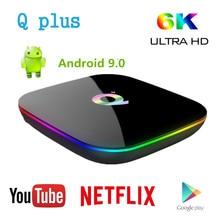 T95 Q plus Smart Android 9.0 TV Box Allwinner H6 4GB 32GB 64
