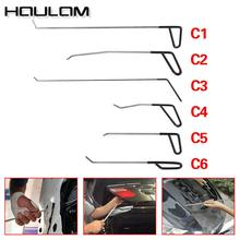 цена на pdr Car Repair Rods Hook Tools Paintless Dent Repair Car Dent Removal Tools C Kit tools for auto paintless dent kit pdr set