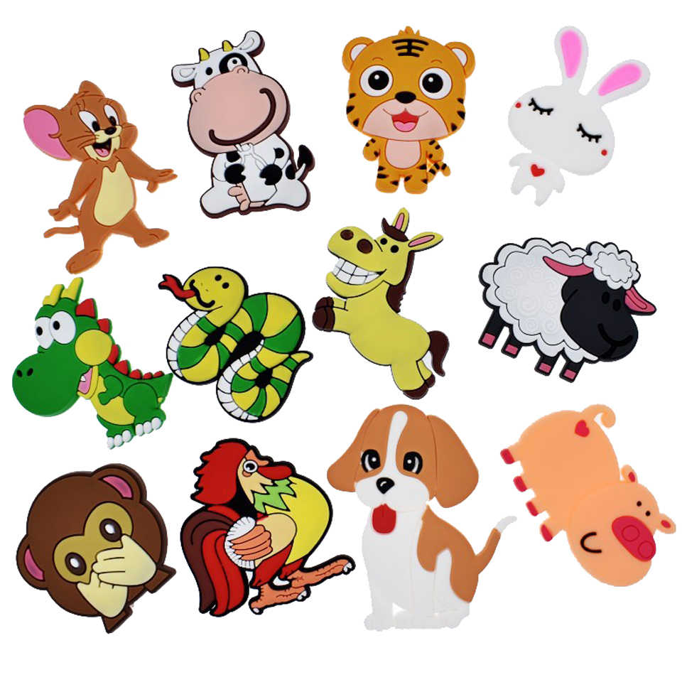 10Pcs 3D Cartoon Cars Fridge Magnets for Kids Magnets for Refrigerators for Home Decoration Accessories Kids Toys Boys Gifts