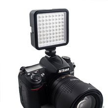 Portable led photography light wedding DV camera fill for Nikon 1/4 screw mouth flash
