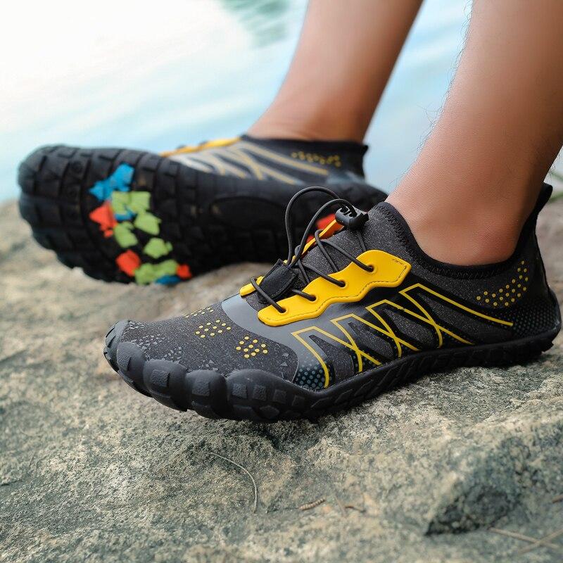 Unisex Outdoor Sports Men Aqua Water Shoes Women Upstream Shoe Wader Surfing Fishing Swimming Cycling Five Finger Beach Sneakers
