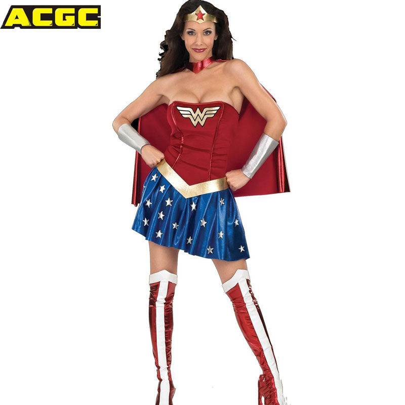 Deluxe wonder woman childrens costume-8803
