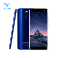 Original LEAGOO S8 Smartphone 5.72'' HD+ IPS 1440*720 Screen Android 7.0 MTK6750 3GB+32GB Quad-Cam Fingerprint 4G Mobile Phone