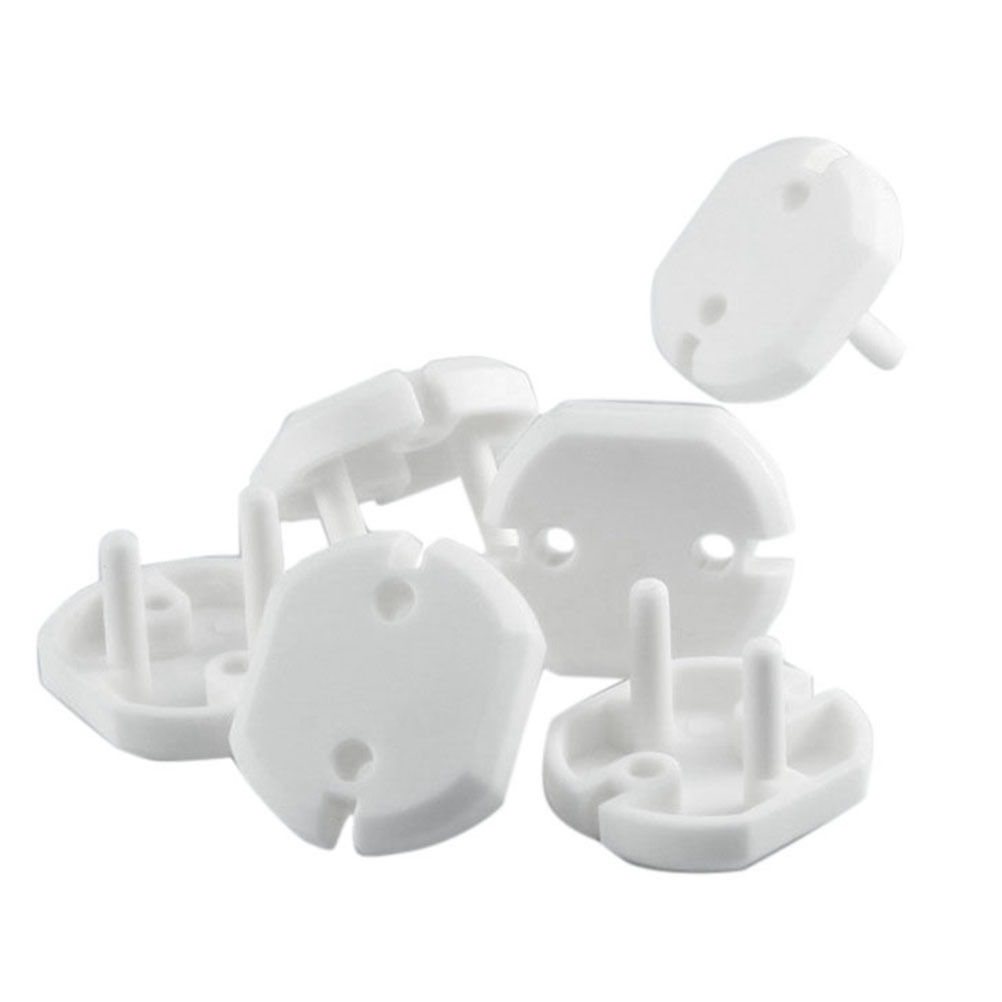 10pcs/lot Electric Anti Shock Plugs Protector Cover EU Power Socket Electrical Outlet Baby Kids Child Safety Guard Protection
