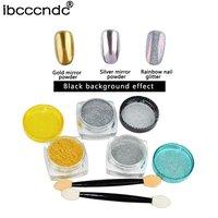 10Pcs Nail Glitter Set Series Sequins Powder Manicure Nail Art Decorations Kit