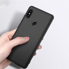 hot deal buy black matte soft tpu phone case for xiaomi mi a2 6x case 8 5x mix 2 redmi 6a 6 5 plus note 5 pro 4x frosted silicon fundas cover