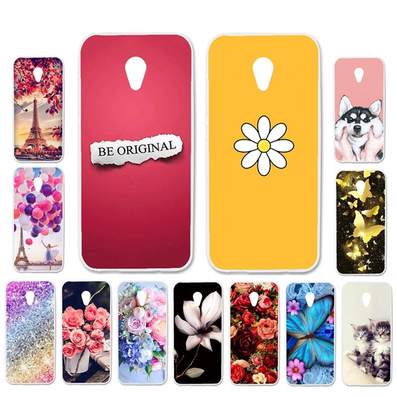 Ojeleye Patterned-Silicon-Case Phone-Cover Case Soft Alcatel U5 Cartoon No Anti-Knock