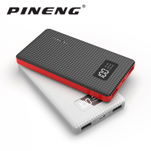 Pineng Power Bank 6000mAh LED Display PN-960 External Battery Portable Mobile Fast Charger Dual USB Powerbank for iPhone Samsung