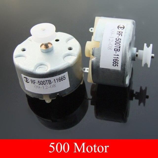 5 pieces Solar motor Power generation Solar motor Cylindrical 32mm *20mm dc 6V gear motor rpm 500 motor