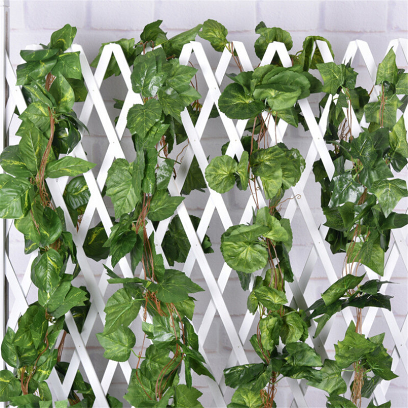 Buy julie wang 260cm artificial vine for Artificial leaves for decoration