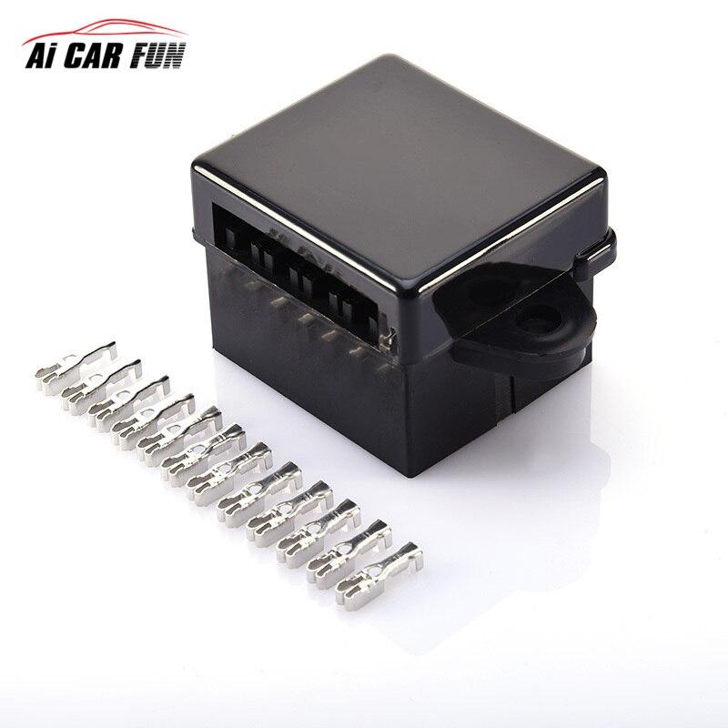 1-40 A 퓨즈 박스 10 도로 ACU 자동차 퓨즈 홀더 자동 - 자동차 전자