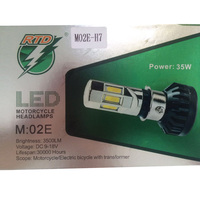 Motorcycle H7 Headlights 3500LM 35W 30000 Hours Autobike 6 Led Lights Bulb Lamp Super Bright Xenon