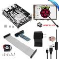 "HDMI 3.5 ""сенсорный ЖК-Экран + Ultimate Starter Kit для Raspberry Pi 3 2/9 Слоя Чехол + 5 В 2.5A Питания + Кабель + Вентилятор + Теплоотвод"