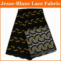 Nigerian Laces Fabric 2017 Latest African Cord Laces Fabrics High Quality Nigerian Guipure Cord Lace Fabric
