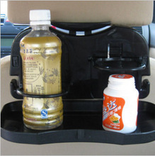 Auto Folded Drinks Holder cup holder Car styling seat back Storage Box organizer Automobiles Interior Accessories Supplies