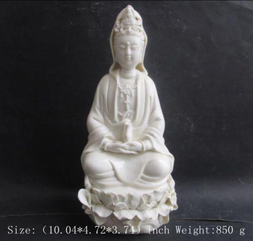 25,5 см * / Китай дехуа біла порцеляна - Домашній декор