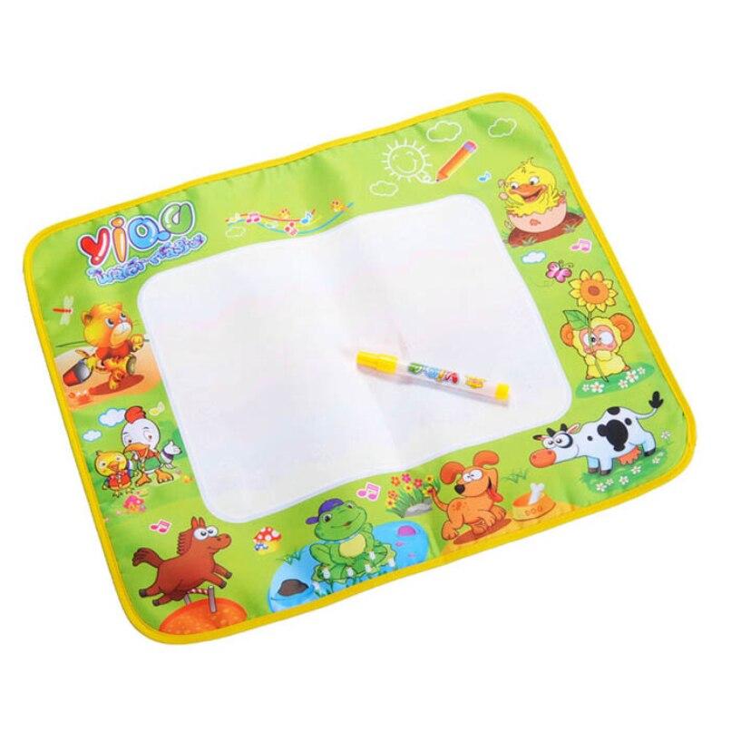 Niosung/горячая Аква Doodle Детский Игрушки для рисования Коврики + Волшебное перо образования игрушки 1 Коврики подарок для маленьких детей