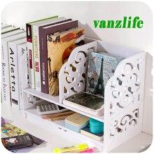 vanzlife garden dormitory desktop storage bookshelf artifact creative articles organising shelf multi-layers small bookshelf