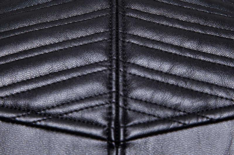 유럽/미국 사이즈 가죽 자켓 새로운 가을 오토바이 가죽 자켓 남자 패션 바이커 코트 고품질 가짜 가죽 자켓 남성