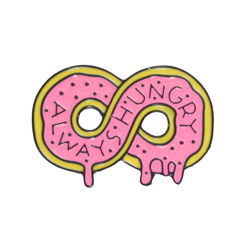 5 стилей мини мультфильмы милая форма сердце автомобиль пончик пиццы банан эмаль булавки Красочные значки Броши сохранить для детей подарок ювелирные изделия