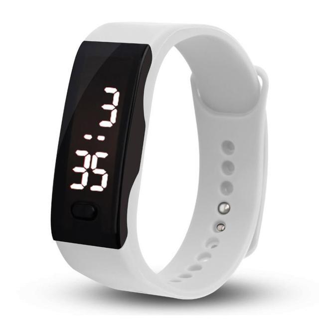 bad0644243b47 Relógio digital de led relógio homens relogio masculino relogio feminino  erkek kol saati mulheres esportes relógios