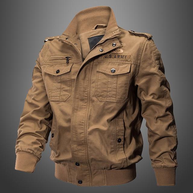 46ea3dcf9a938 Ropa especial para hombres de trabajo otoño militar del ejército de estilo  de moda chaquetas ropa