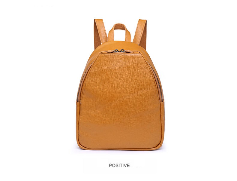 Nesitu 100% Genuine Leather Backpacks Female Natural Soft Real First Layer Cow Leather Top Layer Cowhide Women School Bag M80574 zency genuine leather backpacks female girls women backpack top layer cowhide school bag gray black pink purple black color