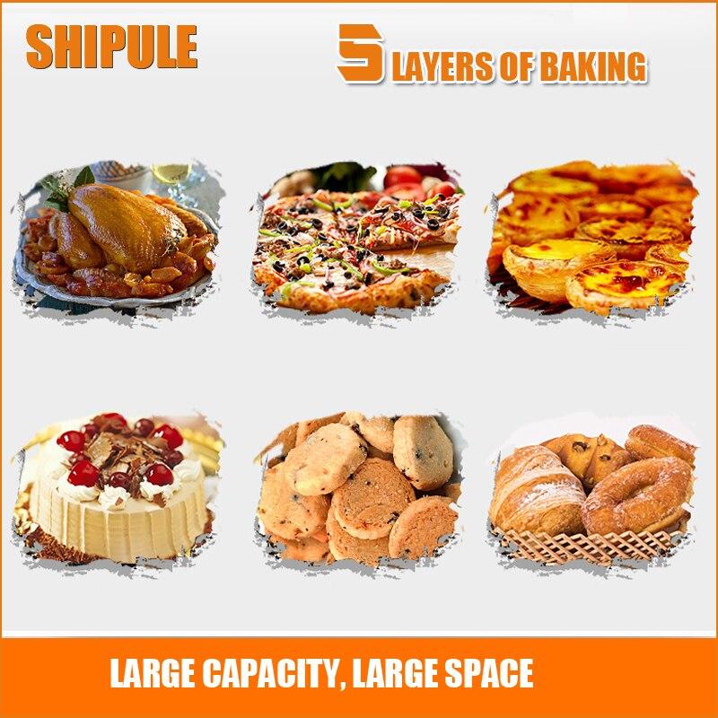 SHIPULE en gros livraison gratuite fours électriques équipement de boulangerie pour pas électronique biscuits tartes pizza rôti poulet machine grille-pain - 3
