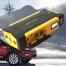 Portátil Coche Salto Banco de Potencia de Arranque de Emergencia Auto Batería Booster Pack Vehículo Salto de Arranque del coche salto de arranque Envío Gratis